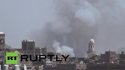 Yemen: Saudi-led airstrikes target Sanaa