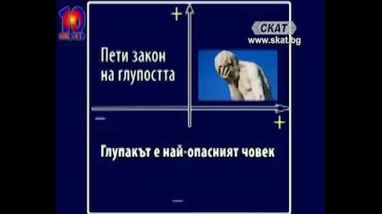 Валентин Фортунов за глупостта (по Карло Чипола)