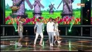 130904 Vixx - G.r.8.u Mbc Music Show Champion (goodbye Stage)
