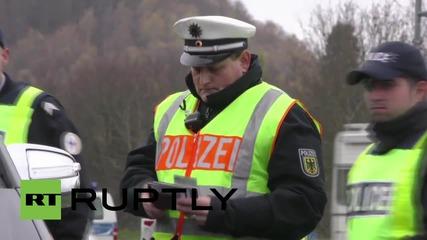 Germany: Police patrol French border at Saarbrucken after Paris terror attacks