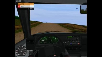 Racer beta Vw Golf 2 diesel run