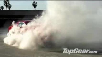 Ford Mustang пали гуми - дивашко ..