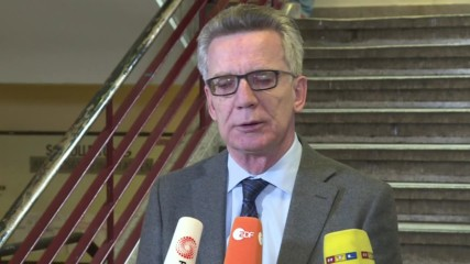 Germany: De Maiziere thanks Afghan security forces after consulate bombing