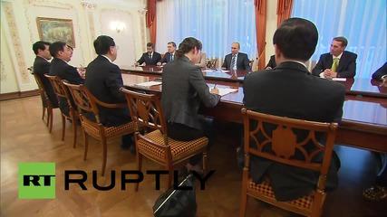 Russia: Putin thanks BRICS representatives for