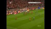 29.08.09 Bayern Munchen 3 - 0 Wolfsburg Robbery Show!