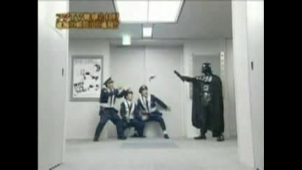 Darth Vader Parody - Japanese Police