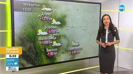 Прогноза за времето (28.01.2021 - сутрешна)
