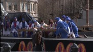 UK: Passion of Christ re-enacted in central London to mark Good Friday