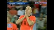 28.06.2010 Холандия - Словакия 2:1 Всички голове и положения - Мондиал 2010 Юар