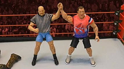 Kurt Angle vs. Matt Hardy with surprise Special Guest Referee: Action Figure Showdown
