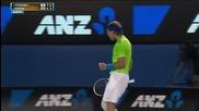 Ето това е да не се отказваш ! Великолепна точка за Надал срещу Федерер !