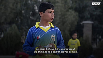 10-year-old cricket prodigy wants to 'bring happiness' to Afghanistan