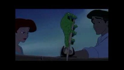 The Little Mermaid - Kiss The Girl - French 1999