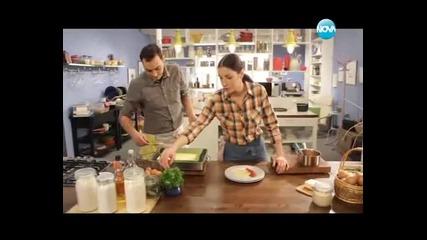Руло от шкембе, люта супа, запеканка от карфиол, хлебна торта - Бон апети (16.01.2013г.)