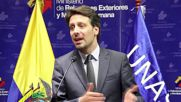 Ecuador: Foreign minister confirms Colombian peace talks