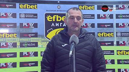 Загорчич: Продължаваме да си гоним точките