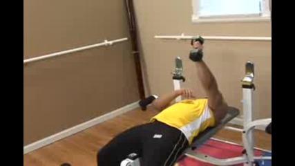 Упражнения с гира