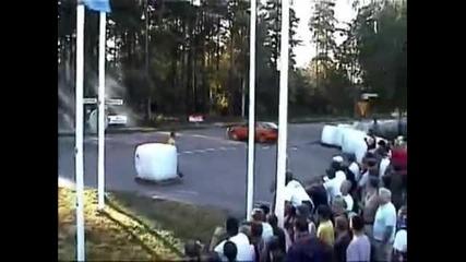 Побъркано Audi S2 Rsr 650 Whp burnout