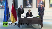 Germany: Former Chancellor Helmut Schmidt commemorated by German leaders