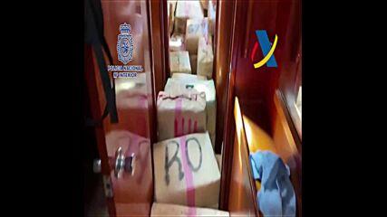 Хванаха 30 тона хашиш край Канарските острови, има задържани българи