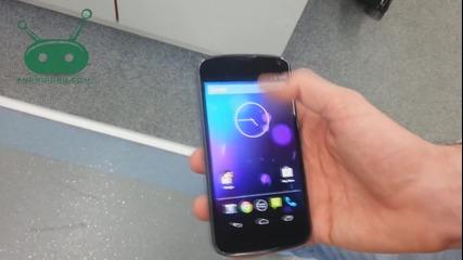 Бърз поглед над Lg Google Nexus 4