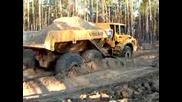 Шведска машина в руска кал