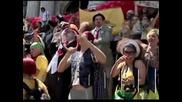 Традиционен парад на клоуните в Рио де Жанейро