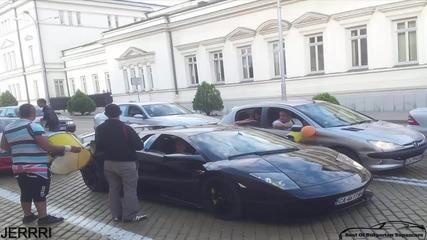 Lamborghini Murcielago Lp640 в София !