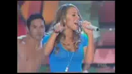 Mariah Carey - Ill be lovin U long time/Touch my body live Teen choice 2008