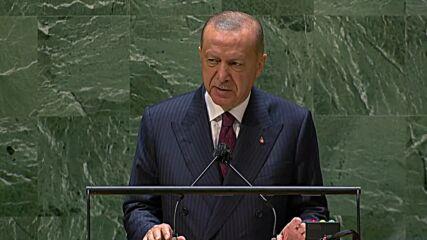 UN: Turkey does not recognise Crimea 'annexation' - Erdogan at UNGA