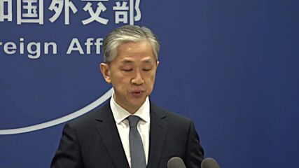 China: Foreign Ministry blasts EU for resolution urging stronger ties with Taiwan