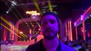 Dancing Stars - Илиян Стоянов подкрепя Елена и Дидо (17.04.2014г.)