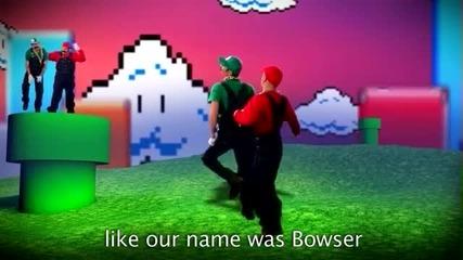 Mario Bros срещу Райт Брос Epic Rap битки на История Сезон 2