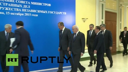 Kazakhstan: CIS foreign ministers meet in Astana to discuss security
