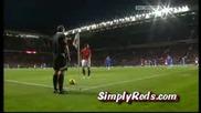 Невероятно Интелигентният Ъглов Удар на Манчестър Юнайтед ! Незаслужено отменения гол на Роналдо ! (БГ СУБС)