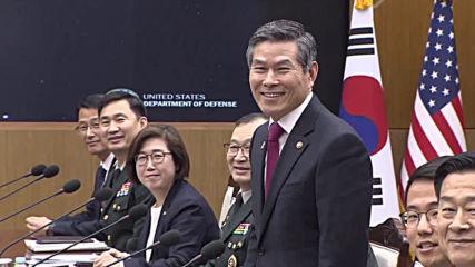 South Korea: U.S. Defense Secretary Esper holds talks with counterpart Jeong Kyeong-doo