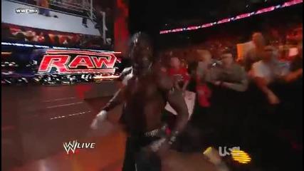 John Cena vs R-truth Raw 05.30.11
