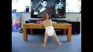 Бебе танцува на Beyonce - Single Ladies