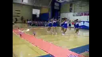 homecoming spirit rally cheer hip hop dance