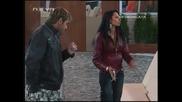 Давид бие елеонора пред сички голям скандал в къщата Big Brother Family 02.04.10