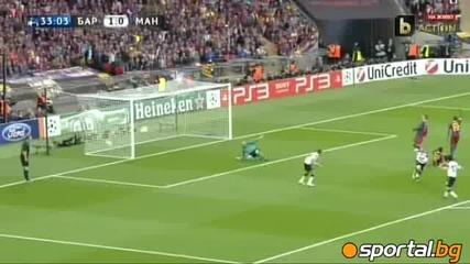 Барселона 3 - 1 Манчестър Юнайтед - Шампионска Лига Финал 2011 Всички Голове