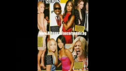 Rihanna In Magazine