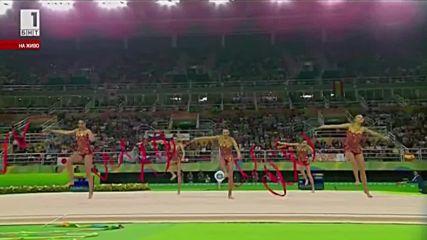 България - ленти - финал - летни олимпийски игри - Рио 2016