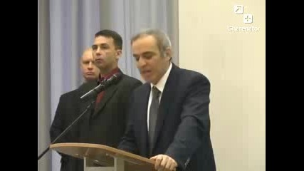 Flying Rc Penis Disrupts Garry Kasparov