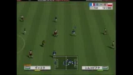 Футболна Игра - Франция - Полша