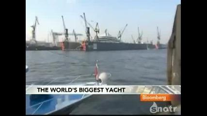Яхта която струва $450.000.000