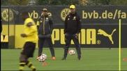 Кагава започна тренировки с Борусия Дортмунд