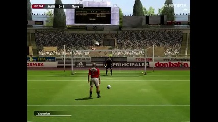 Fifa 05 gameplay match