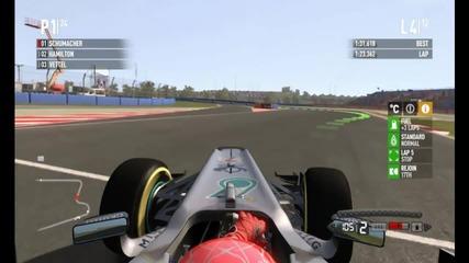 F1 2011 Gameplay Епизод 2