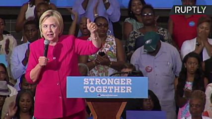 Clinton Pledges Manufacturing 'Renaissance' at Philly Rally